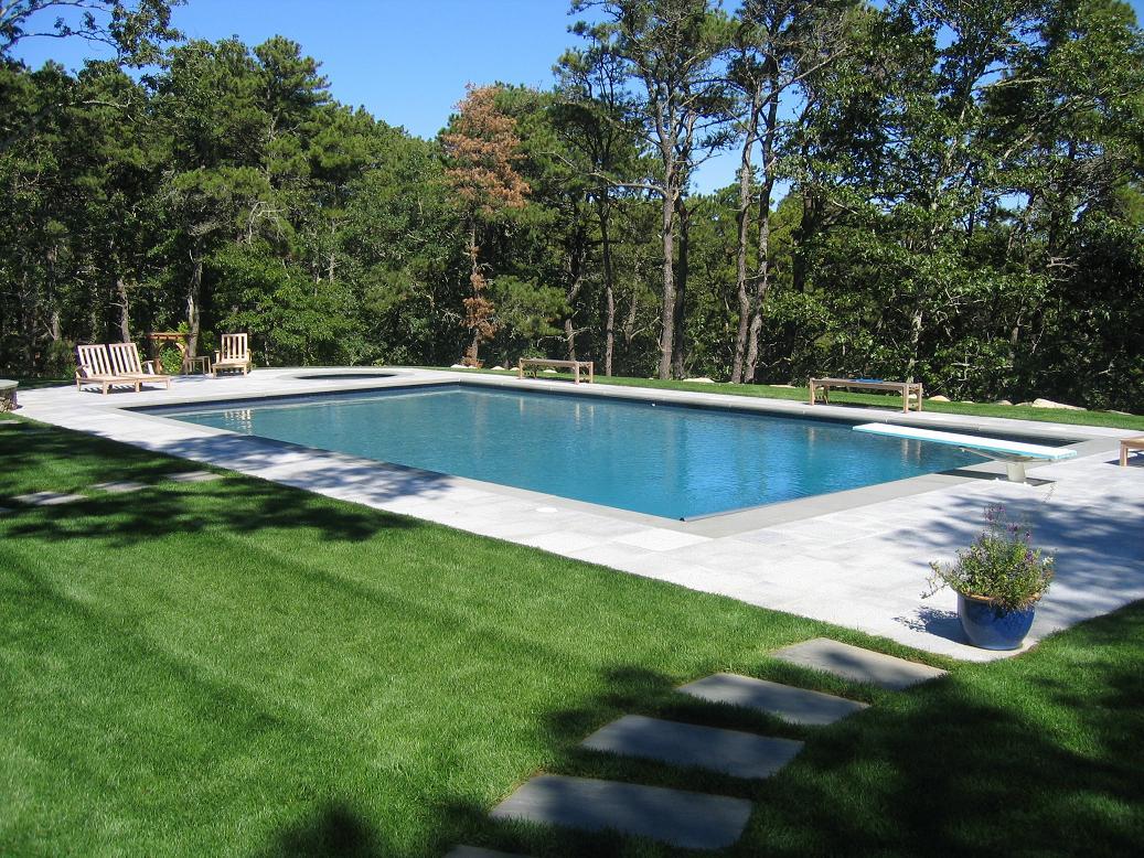 Gunite Pool Designs free form gunite pool w spillover spa waterfall Projects